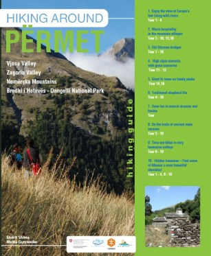 Permet and Zagoria hiking guide cover