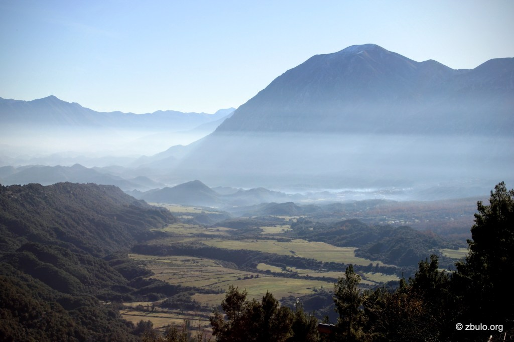 Shushica valley from Terbac