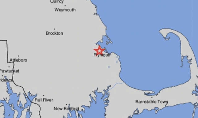 Rare earthquake strikes in Plymouth, Massachusetts
