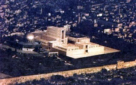 WILL THE JEWISH TEMPLE BE REBUILT NORTH  OF THE DOME OF THE ROCK ON JERUSALEM'S  TEMPLE MOUNT AND HERALD WORLD PEACE?