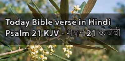 Bible verses in Hindi