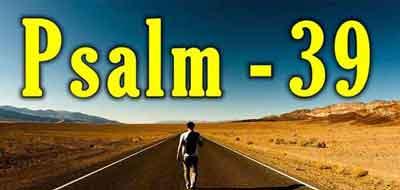 Psalm 39 KJV