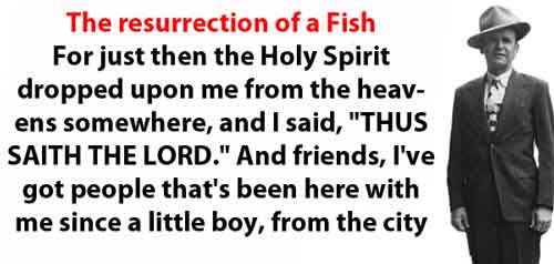 Resurrection of a Fish