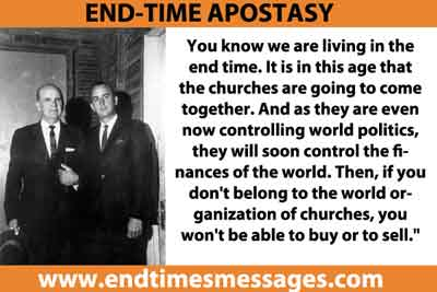 END-TIME APOSTASY