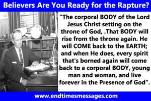 are you ready for rapture