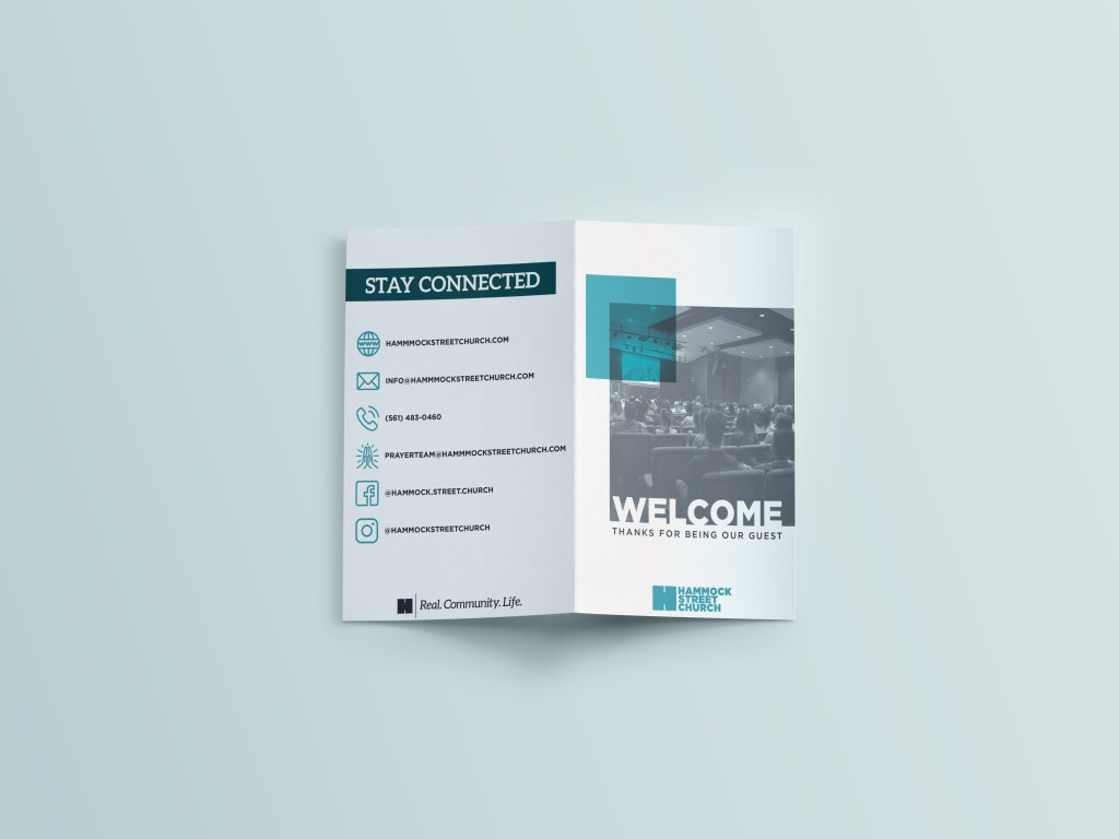 First Time Guests Brochure