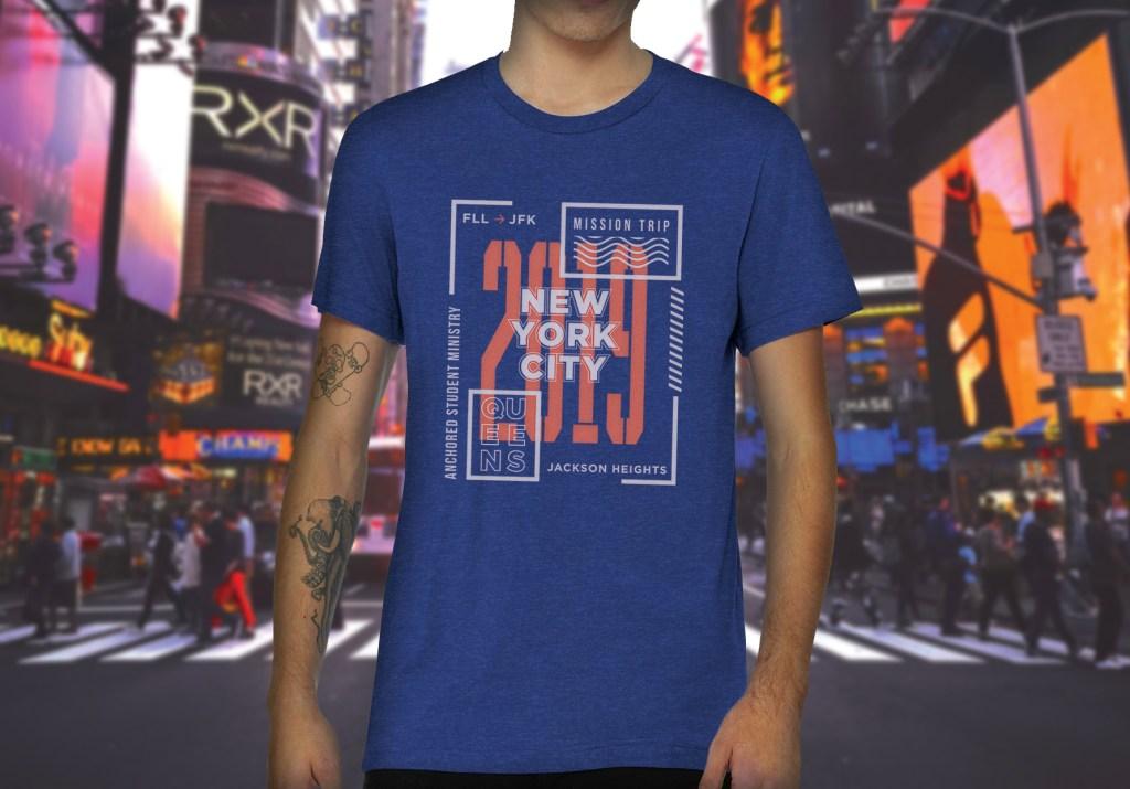 NYC Mission Trip Shirt