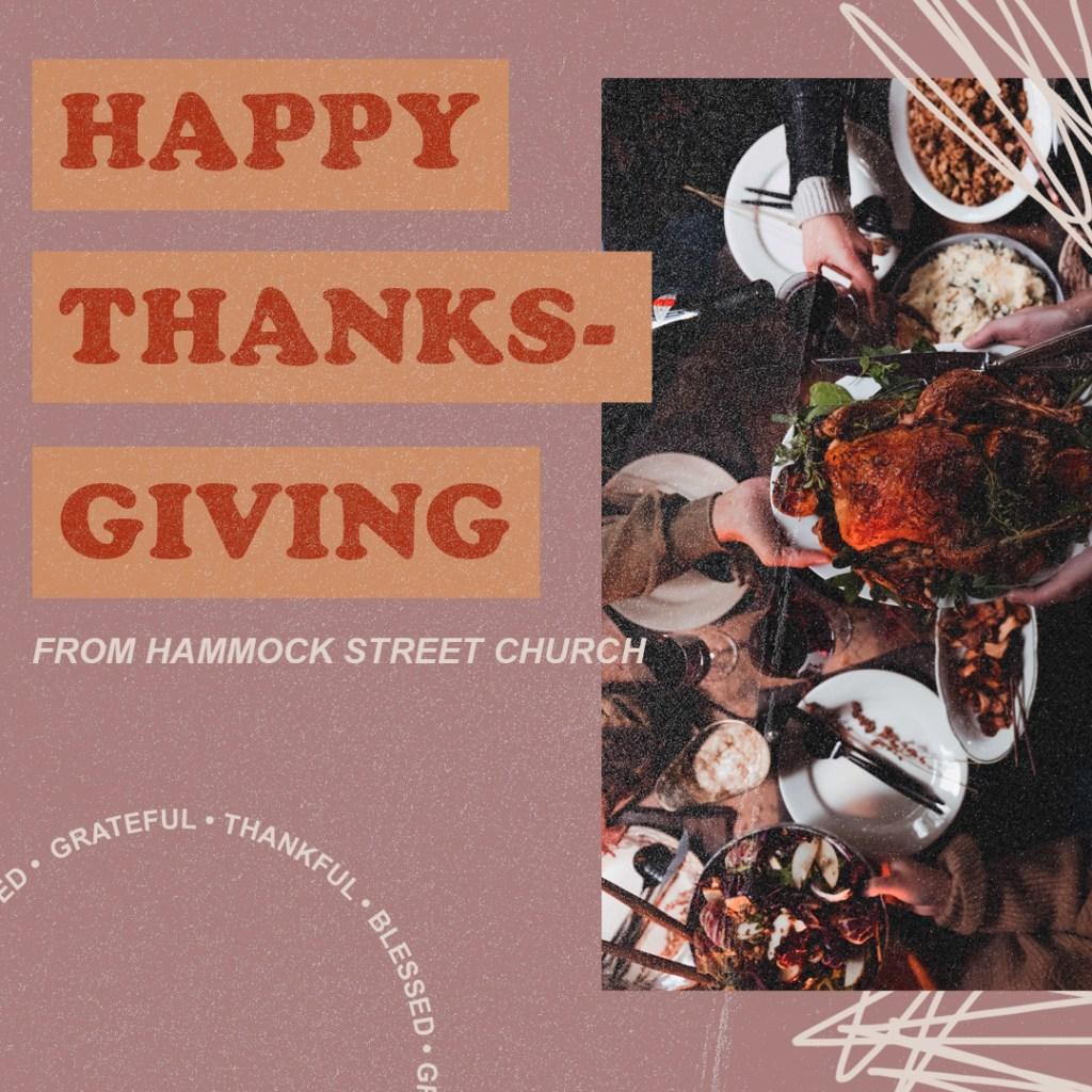Happy Thanksgiving Social Media