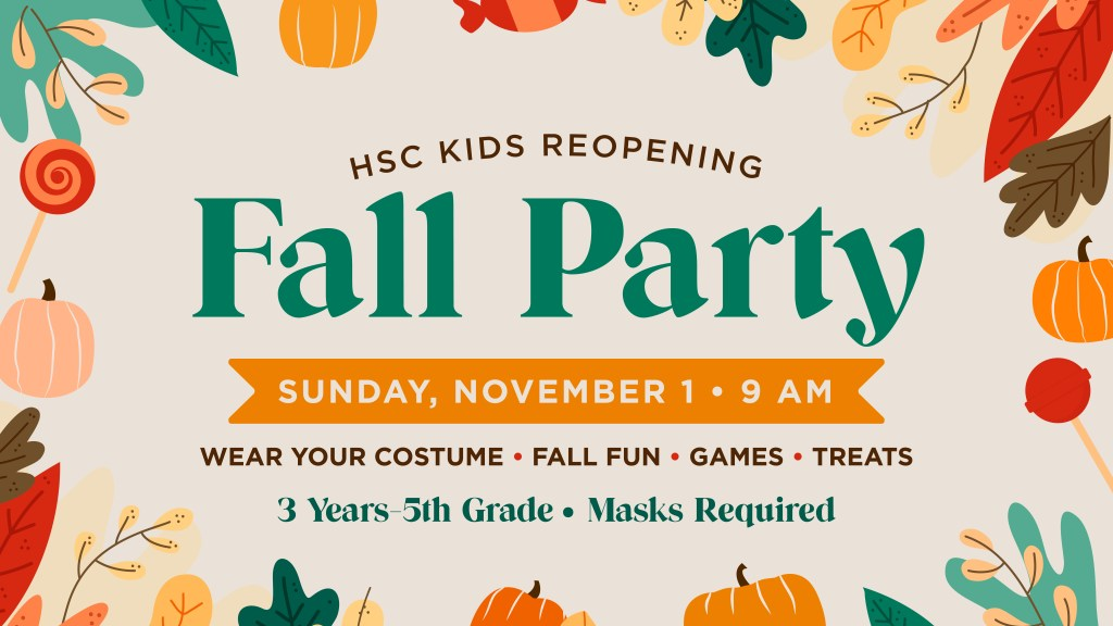 Children's Ministry Reopening Party