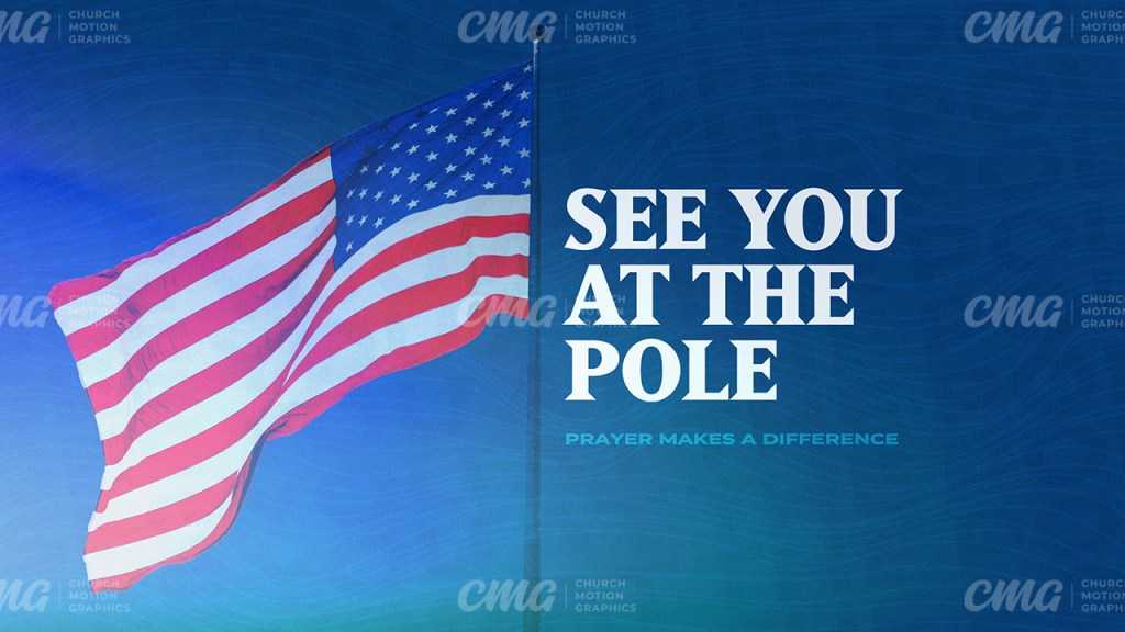 See You At The Pole **This graphic is available for purchase from Church Motion Graphics: https://shop.churchmotiongraphics.com/library/template