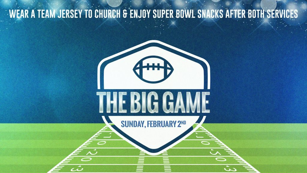 The Big Game Announcement