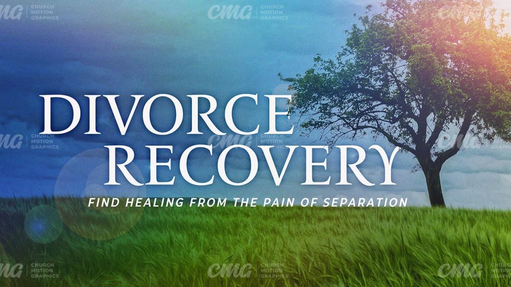 Divorce Recovery Tree Grass Sun Glare-Subtitle