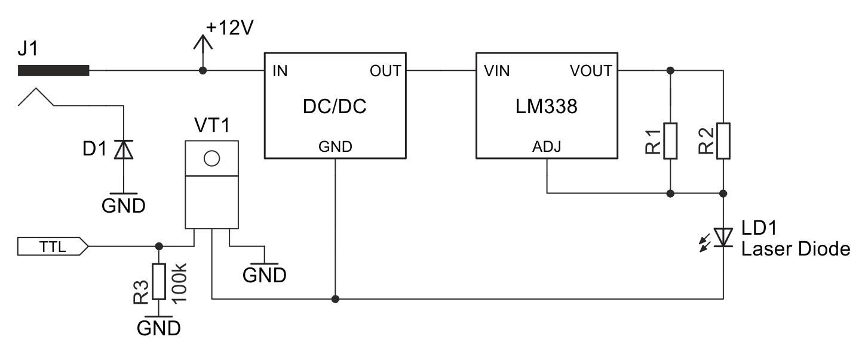 [WRG-8282] Laser Wiring Diagram