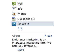 How to Add Your LinkedIn Profile to Your Facebook Business