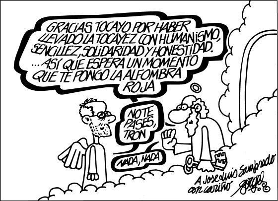 Forges despide a Sampedro