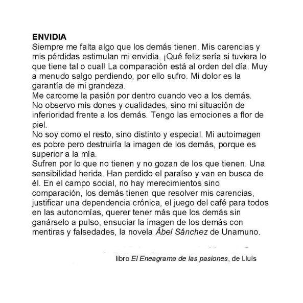 4 - Envidia