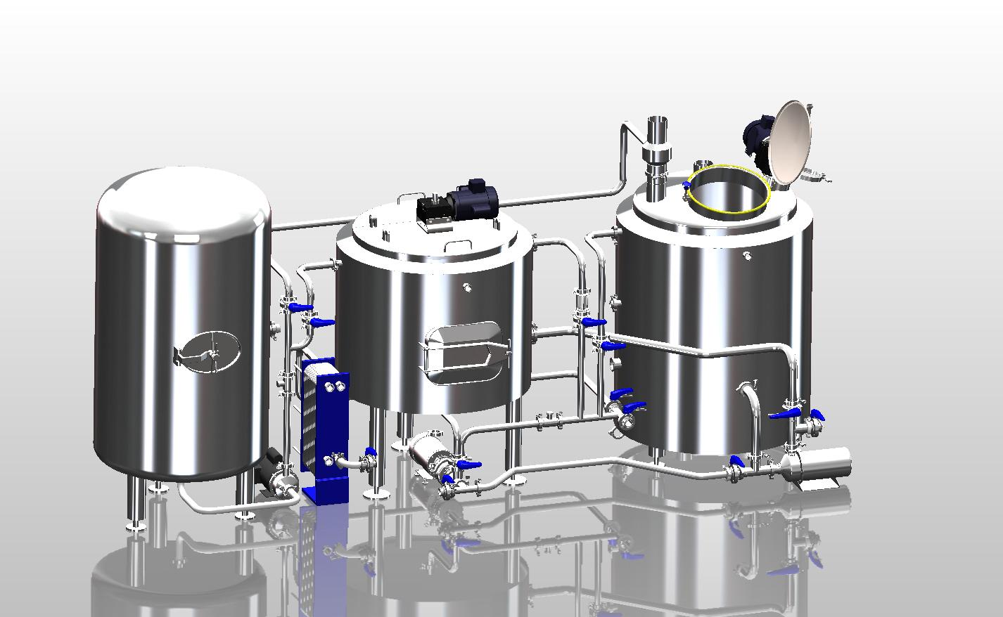 hight resolution of brewery design 2
