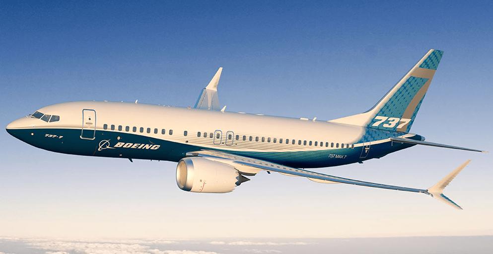 Resultado de imagen para Boeing 737 max 7 png