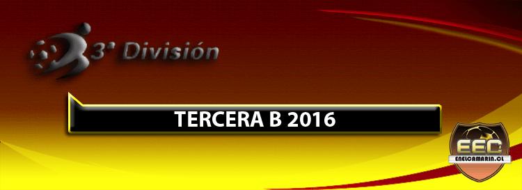 Resultados Fecha 8 Tercera B 2016