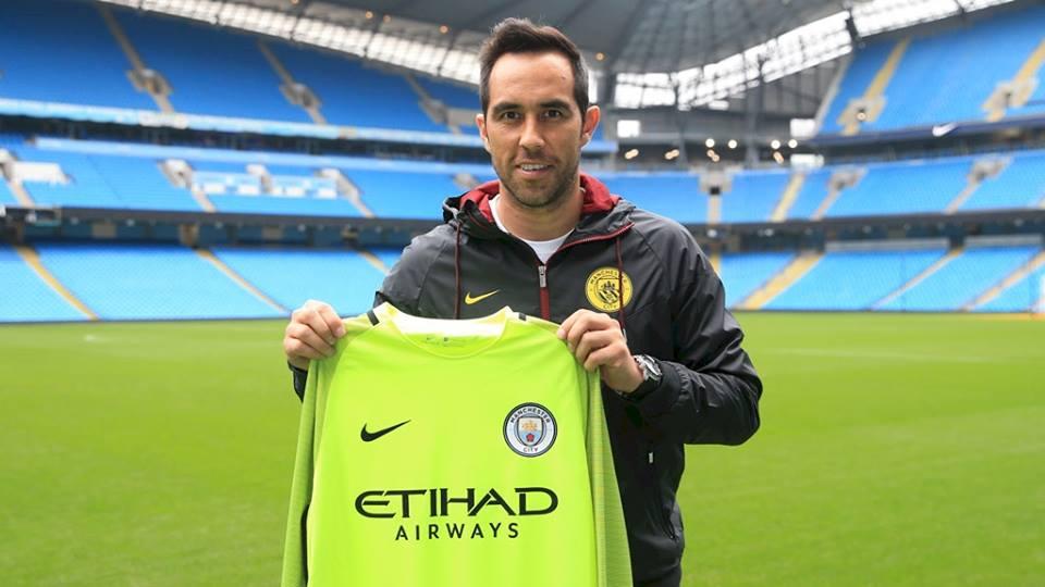 Claudio Bravo es el nuevo candado del Manchester City