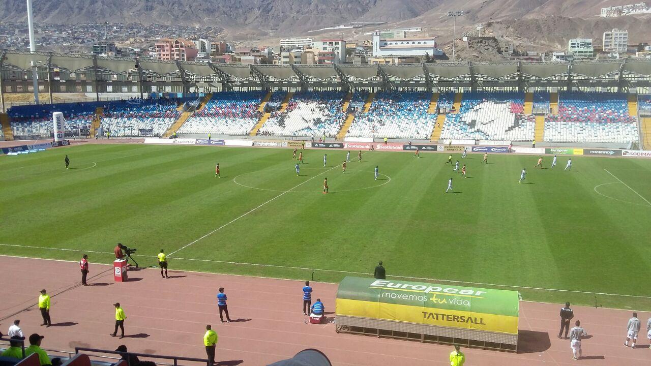 Amargo empate para Antofagasta en el Calvo y Bascuñán