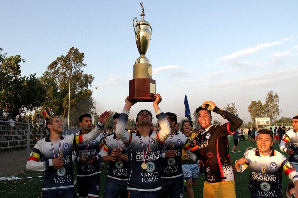 Provincial Osorno se corona campeón de Tercera División A con una contundente goleada