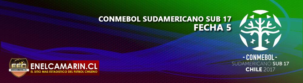 Finalizado: Chile S-17 1-0 Ecuador S-17