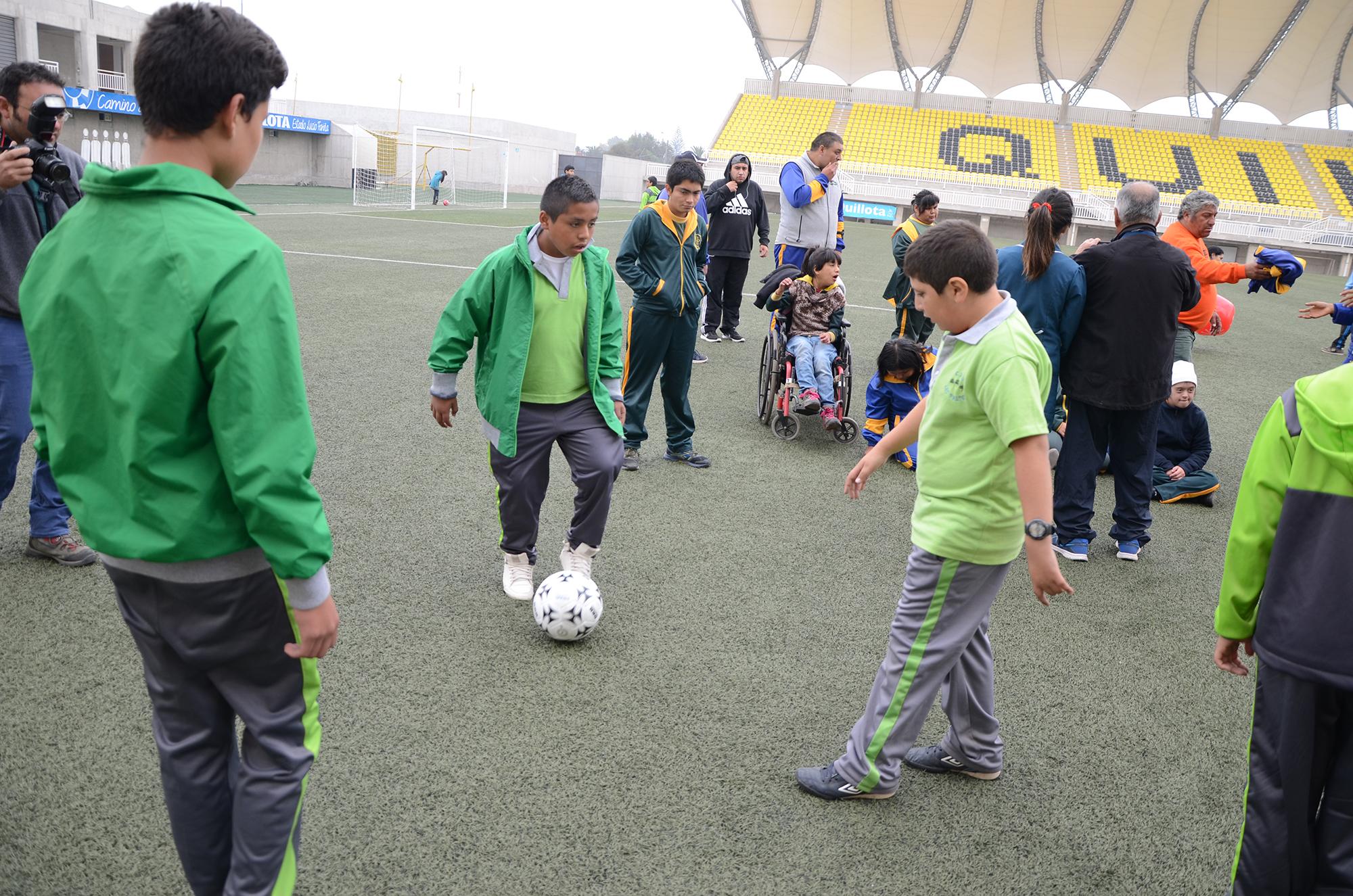 San Luis de Quillota se la juega con iniciativa para personas con discapacidad intelectual