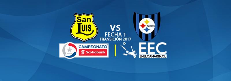 Finalizado: San Luis 2-0 Huachipato