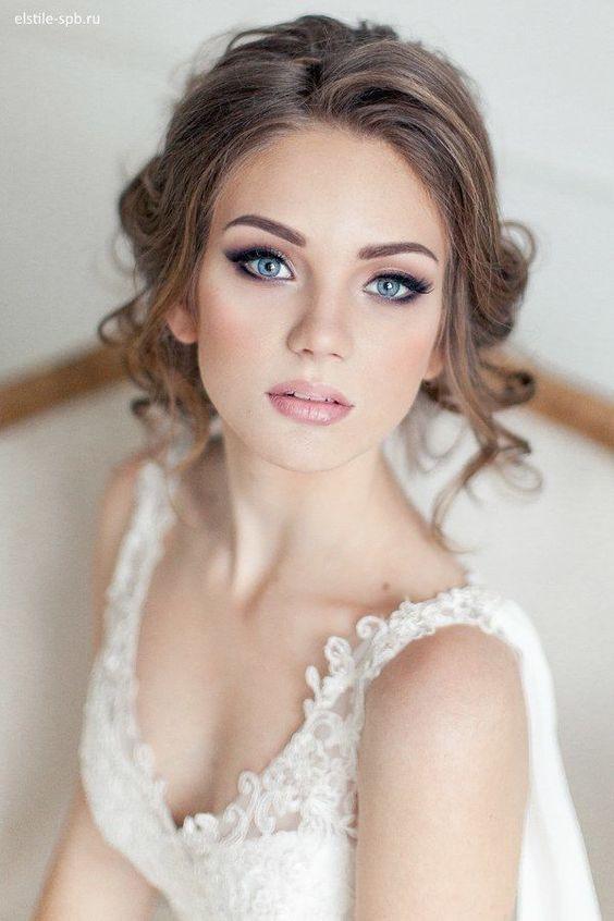Resultado de imagen de novias maquillaje smokey-eyes