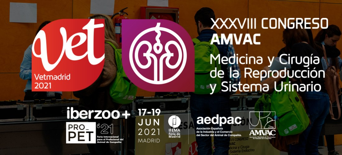 Vetmadrid 2021 cambia de fechas: el XXXVIII Congreso Anual de AMVAC se celebrará en junio