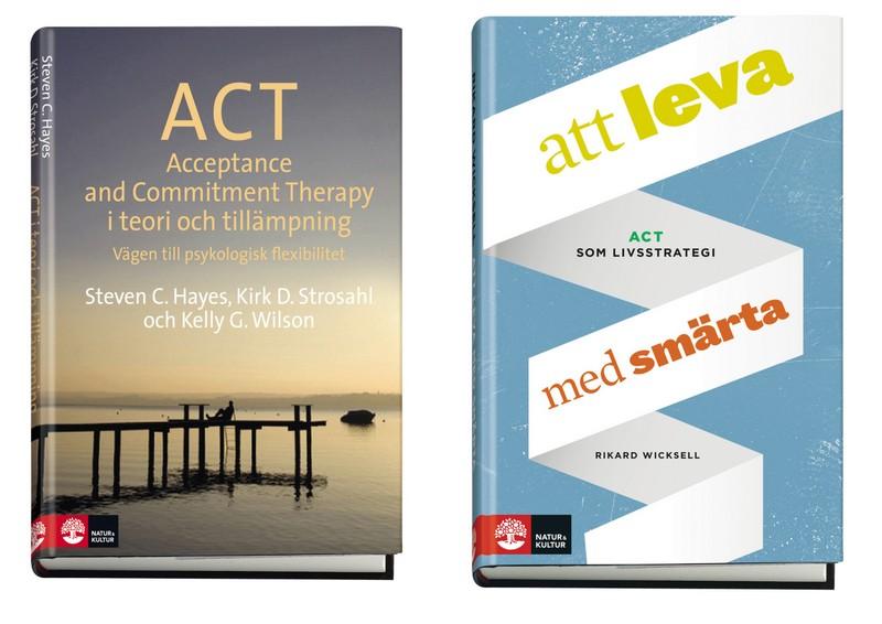 Två ACT böcker: att leva med smärta och ACT