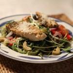 Kyckling med bönpasta & pesto