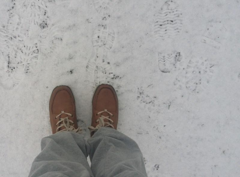 Promenad skor