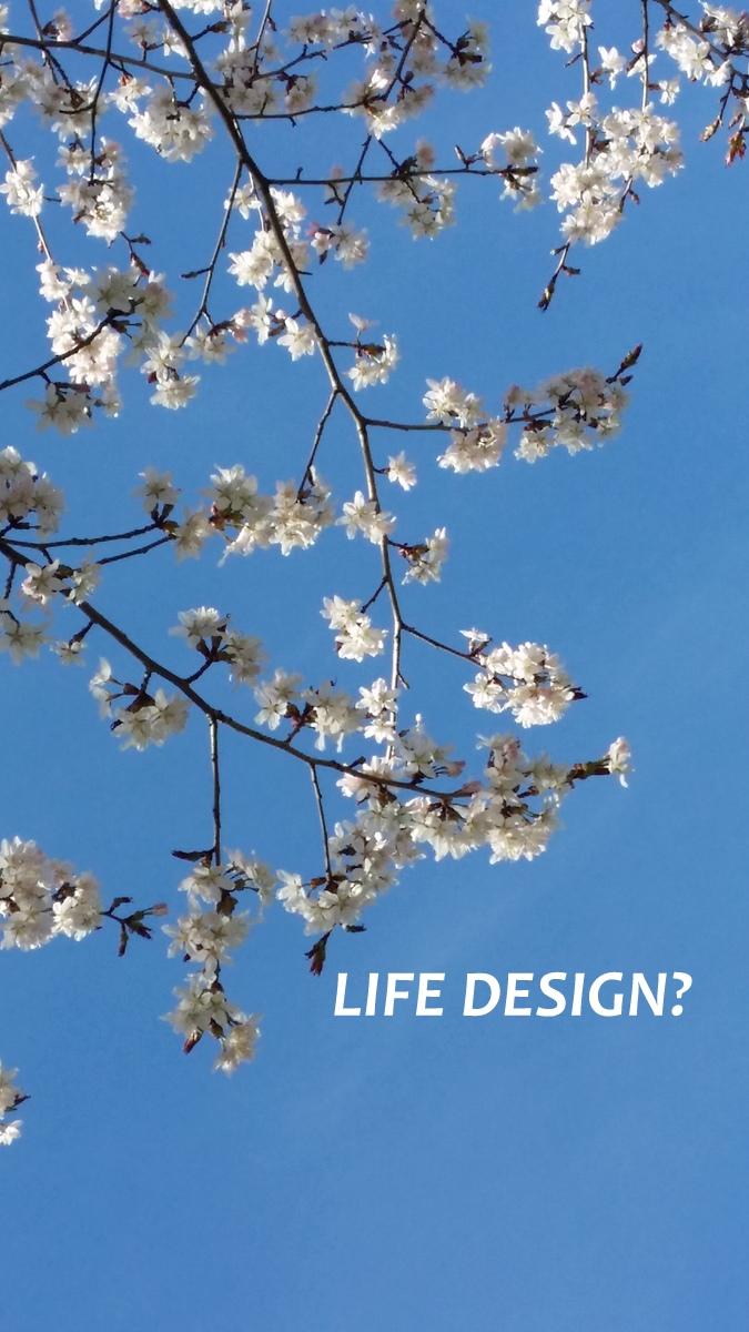 vita blommor - life design