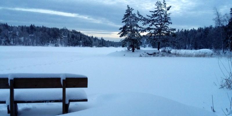Vinter Vendelsö