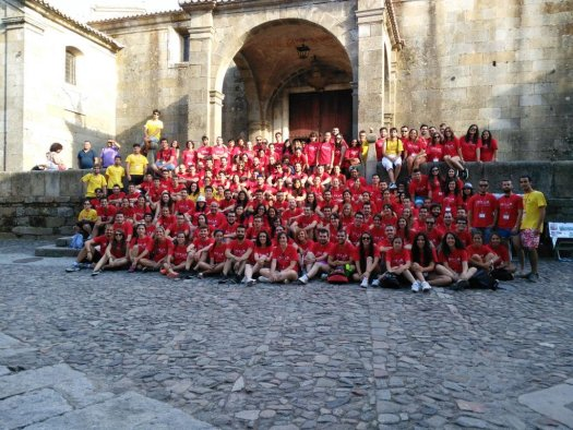 Foto de familia del XVI ENEM de Salamanca