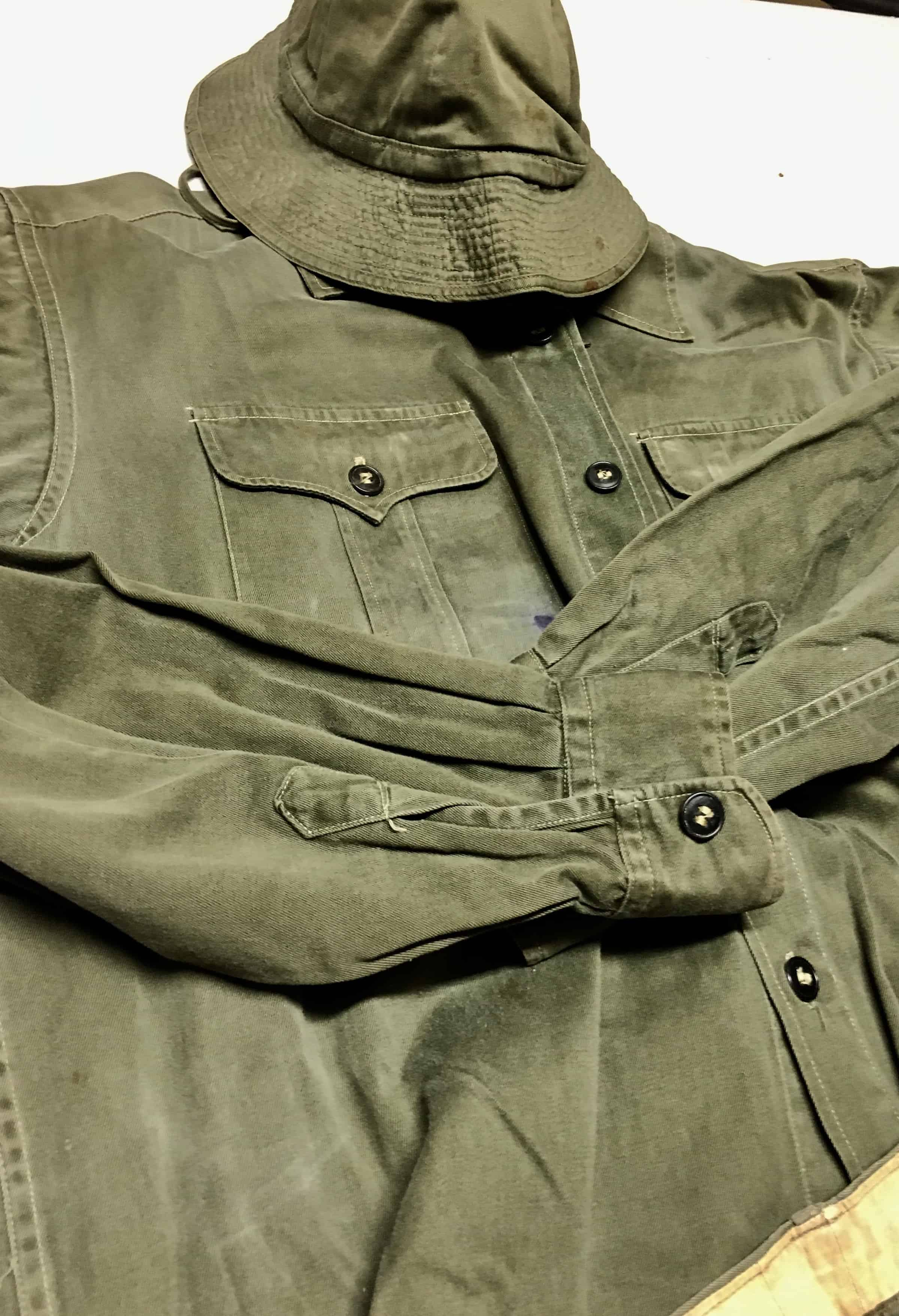 North Vietnamese Army Enlisted Green Uniform With Matching
