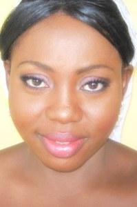 bridal makeup by nigerian makeup artist bronze goddess NG