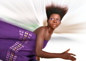 african doll makeup