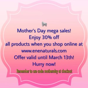 Mother's Day mega sales