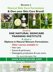 You too can be a natural skincare formulator