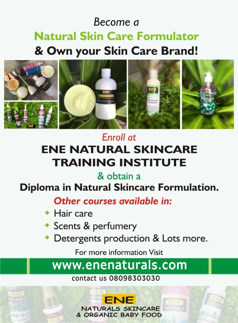 Natural skincare training Lagos Nigeria, Natural Skincare Training Lekki Lagos, lotion and soap training Lekki Lagos Nigeria