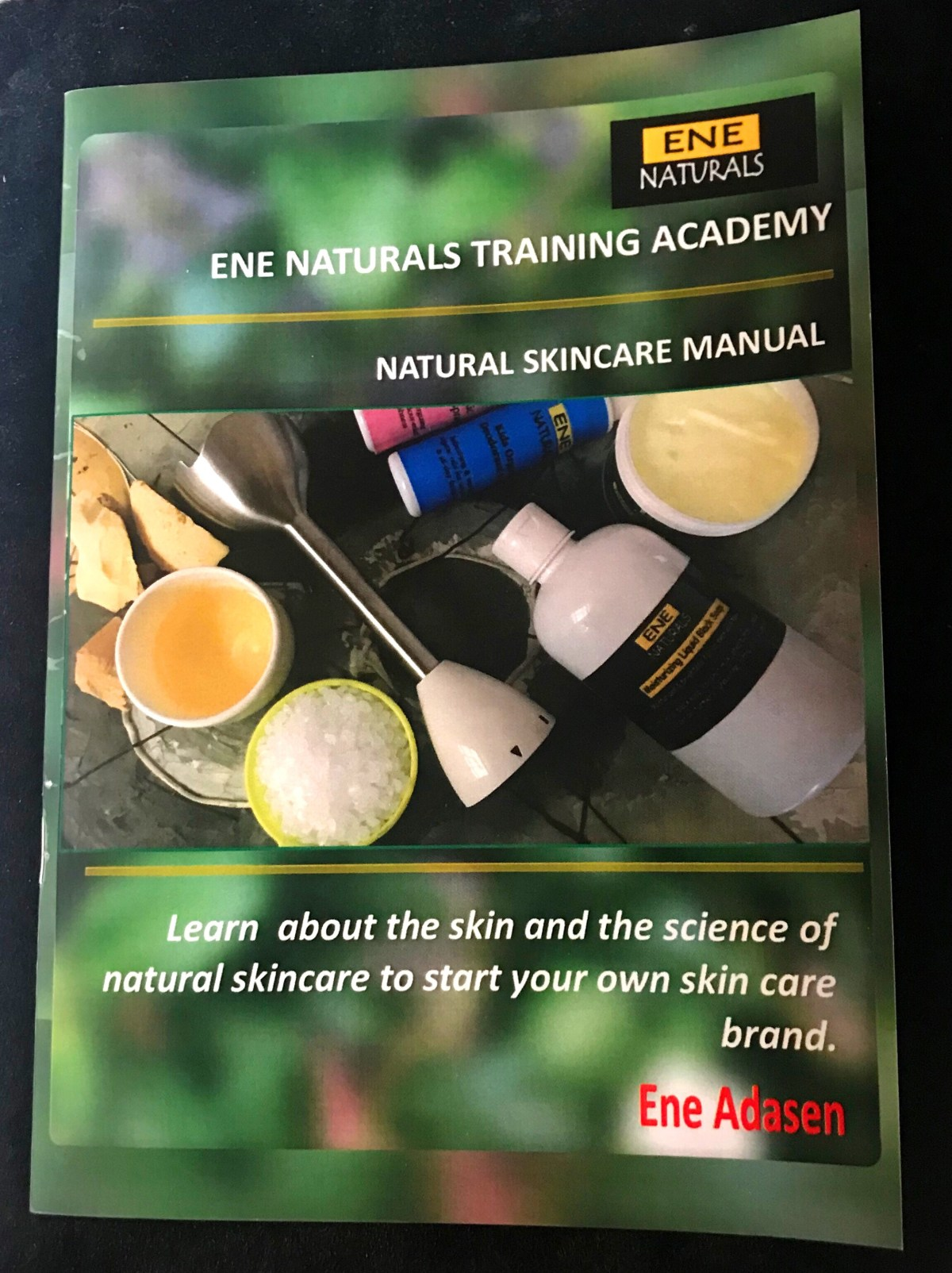 Natural skincare manual