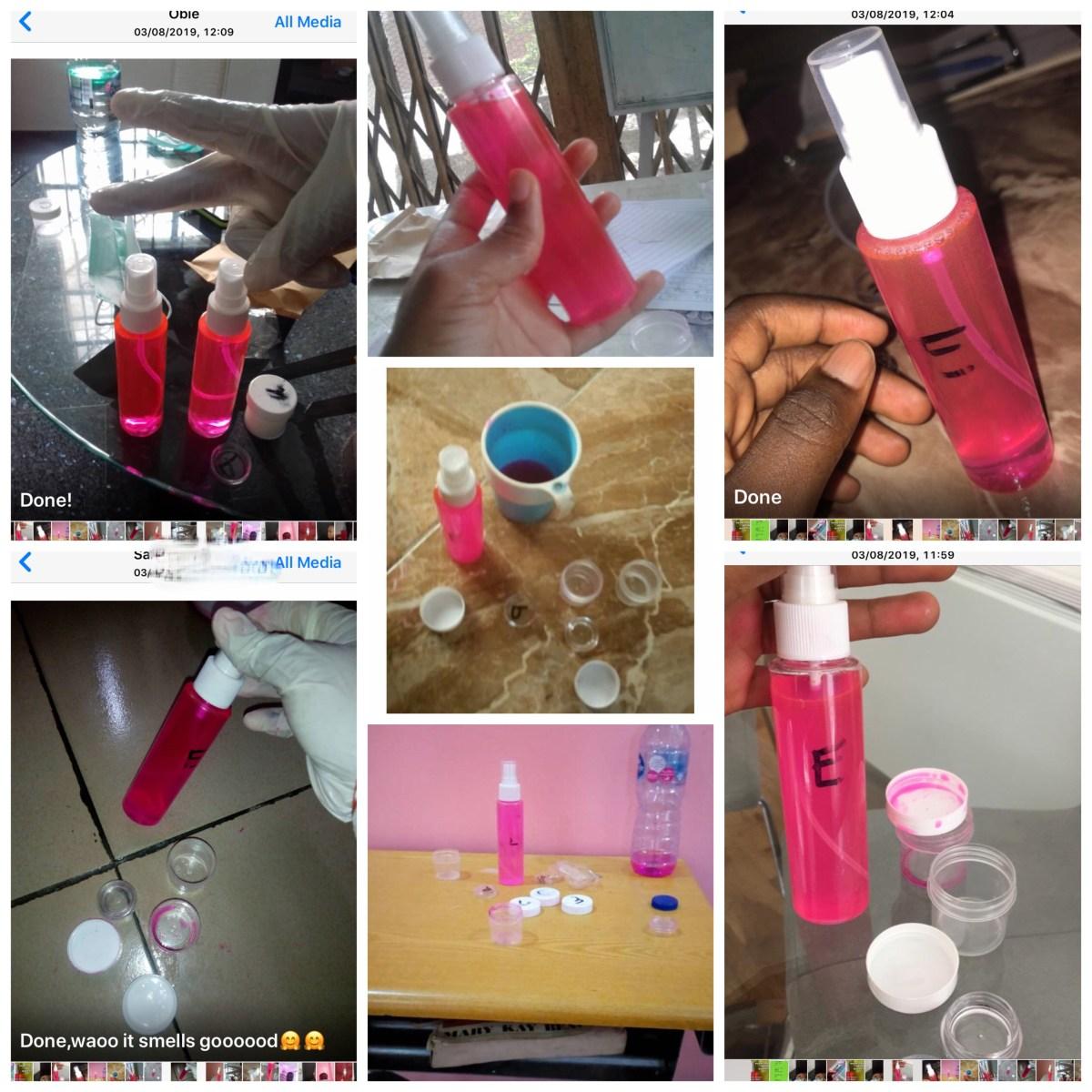 Free online training on how to make room Freshener