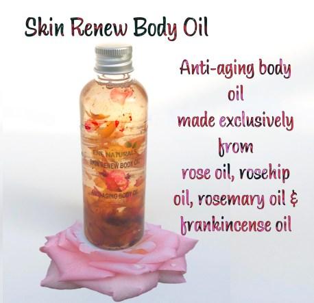 skin renew anti aging body oil