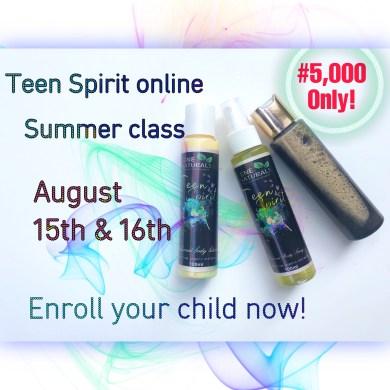 Teen spirit summer class