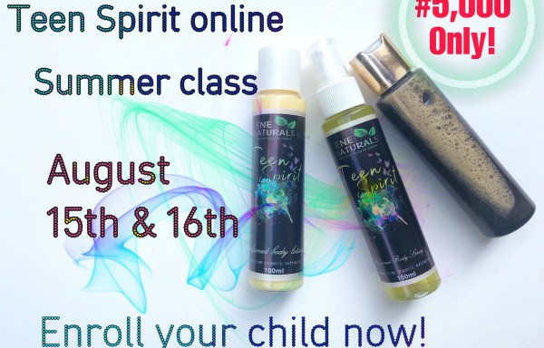 TEEN SPIRIT ONLINE SUMMER CLASS