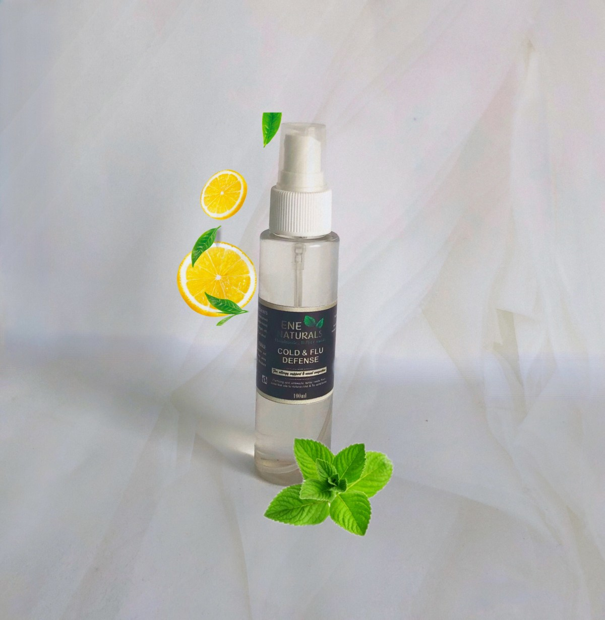 Spray for cold and flu