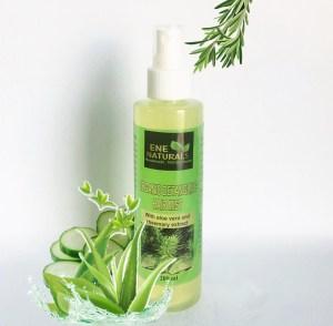 organic detangling hair mist